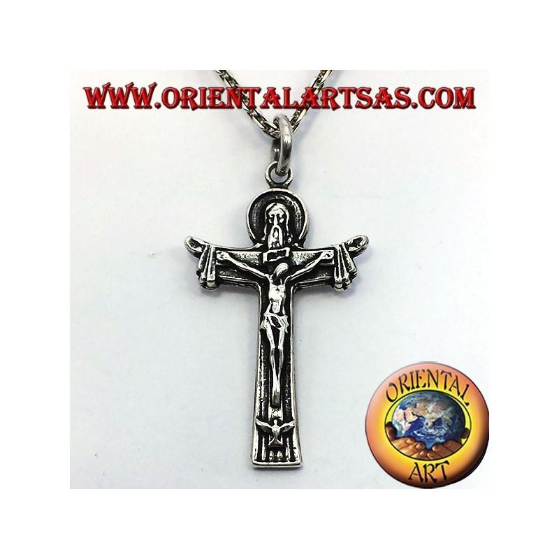 ciondolo crocifisso padre figlio e spirito santo