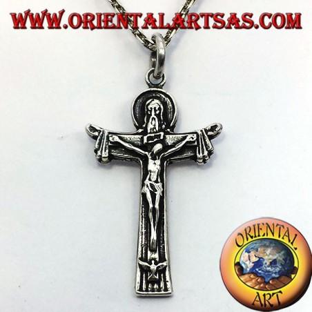 pendentif, crucifix père fils et l'esprit saint