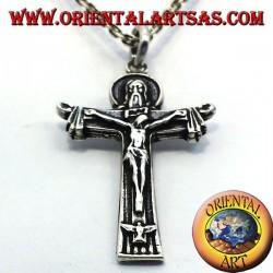 Anhänger, Kruzifix Vater Sohn und Heiliger Geist