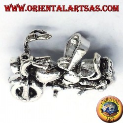Royal Enfield Motorcycles pendant, 925 silver