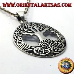 Tree of Life pendant big silver