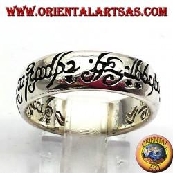 señor registro de los anillos en plata
