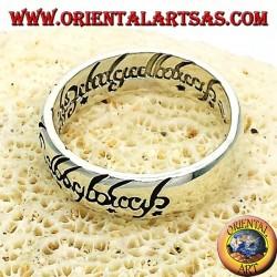 fedina signore degli anelli in argento