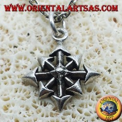 Pendant Star of Chaos, small silver