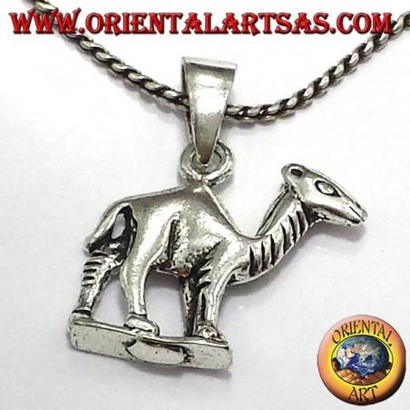 Dromedar Anhänger in Silber