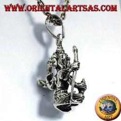 BRAHMA pendant in silver