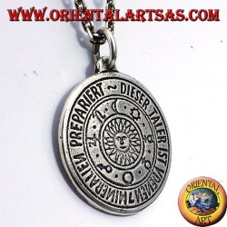 Amulett Anhänger Planeten Sonne Silber