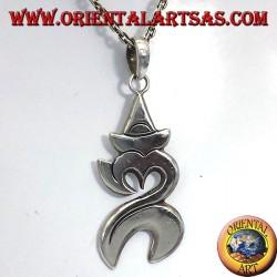 Om Anhänger balinesischen Silber (heilige Silbe)