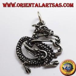 Drachen Anhänger Silber 925