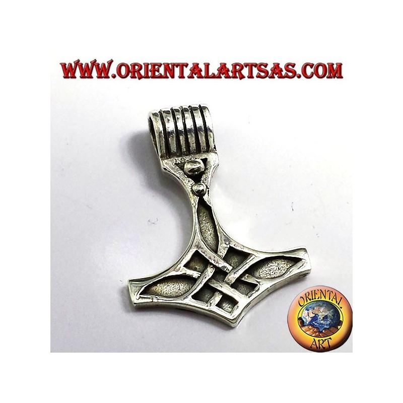 ciondolo Martello di Thor, in argento