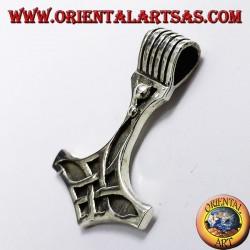 colgante del martillo de Thor en plata