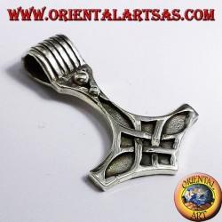 Thors Hammer Anhänger aus Silber