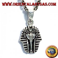 ciondolo faraone Tutankhamon in argento