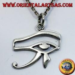 pendentif en argent oeil d'Horus et Eye of Ra