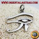 ciondolo in argento occhio di Horus o occhio di Ra