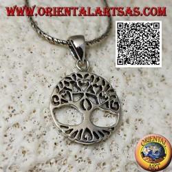Colgante de plata yggdrasil o árbol de la vida, una herramienta para recuperar la identidad.