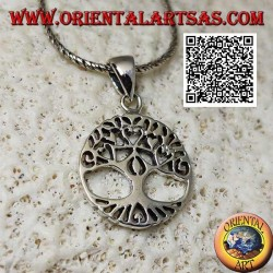Yggdrasil silver pendant or tree of life, a tool for regaining one's identity