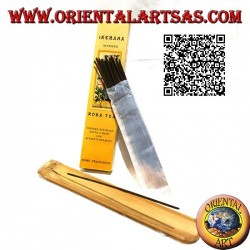 """Natural """"Ikebana"""" incense with rose tea flavored botanical extracts (20 sticks)"""