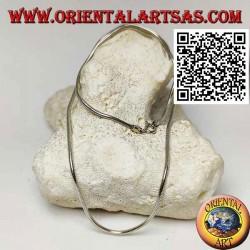 Collier en argent 925 ‰ avec lien serpent de 46,5 cm x 2 mm