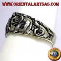 Anello in argento, animali della Savana Africana