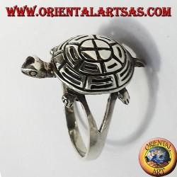 Turtle Silberring