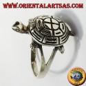 Anello tartaruga in argento
