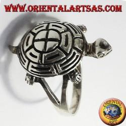 Anillo de plata de la tortuga