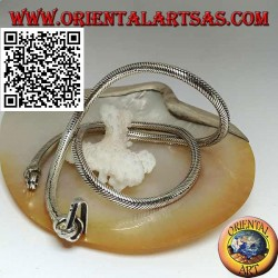 700 ‰ silver necklace with 53.5 cm x 5 mm snake link
