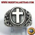 anello in argento croce