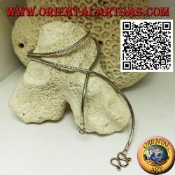 Collana in argento 925 ‰ a maglia snake da 47,5 cm x 2 mm