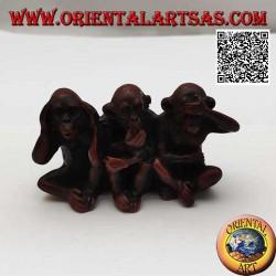 Sculpture des trois singes...