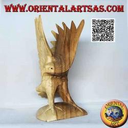 Escultura del águila real...