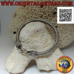 Silver Indonesian snake...