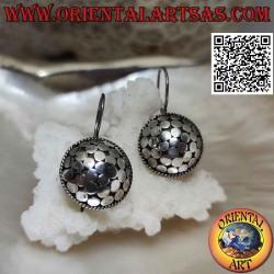 Серебряные серьги-подвески...