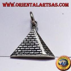 ciondolo piramide in argento 925