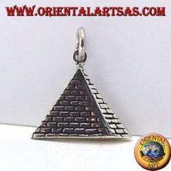 pendentif en argent pyramide 925