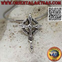 Silver pendant, Celtic...
