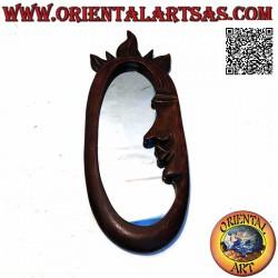 مرآة حائط ، صورة جانبية...