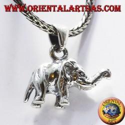 Plata colgante de elefante (en tres dimensiones)