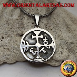 Silver pendant, seal of a...
