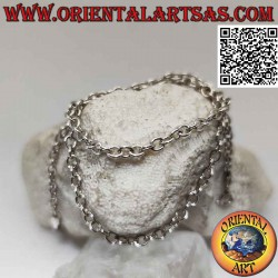 Collana in argento 925 ‰ ad...