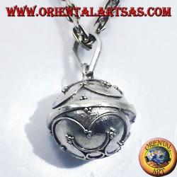 colgante de plata llamados ángeles (llamadas de los ángeles)