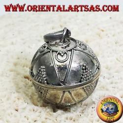 colgante de plata llamados ángeles (llamadas de los ángeles) de 16 mm de diámetro.