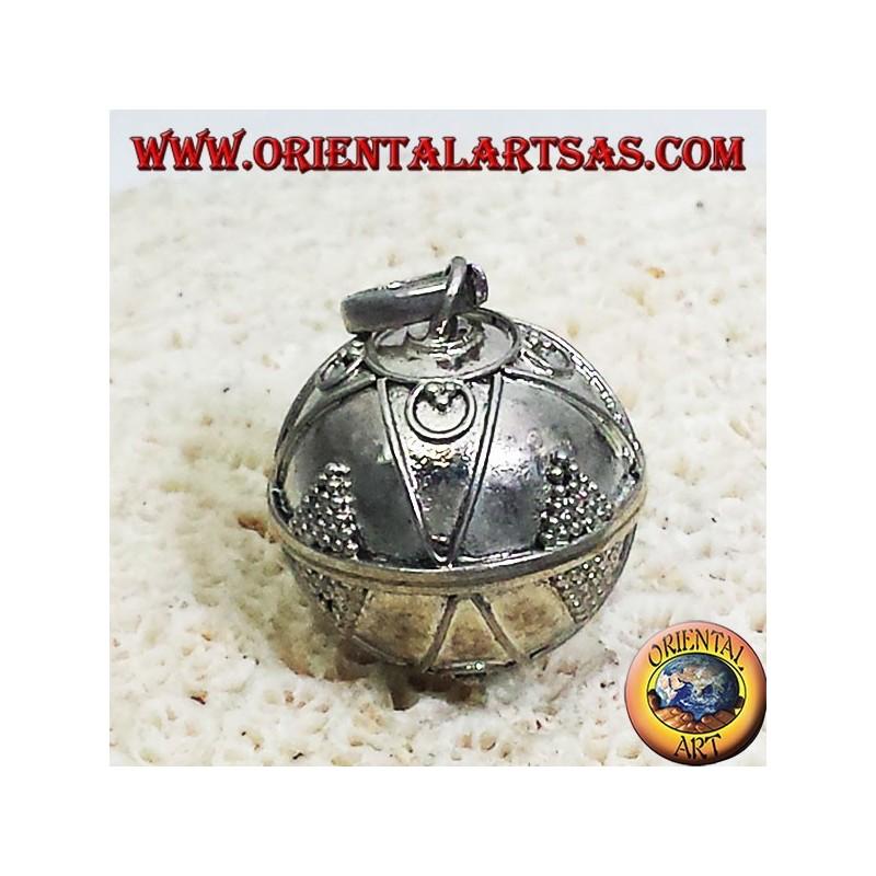 Silber Anhänger genannt Engel (Ruf der Engel) Durchmesser 16mm.
