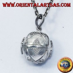silver pendant called angels (call of the angels) diameter 16mm.