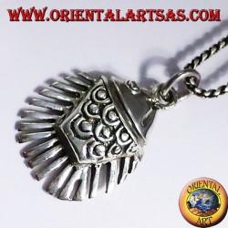 silver pendant Fish