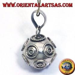 colgante (recordar los ángeles) se llama ángeles de plata de 16 mm de diámetro.