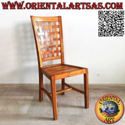 High-backed chair with...