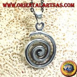 Pendant (spirale développante ou archimédien Spiral) Argent