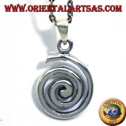 Pendant (involute spiral or Archimedean Spiral) Silver